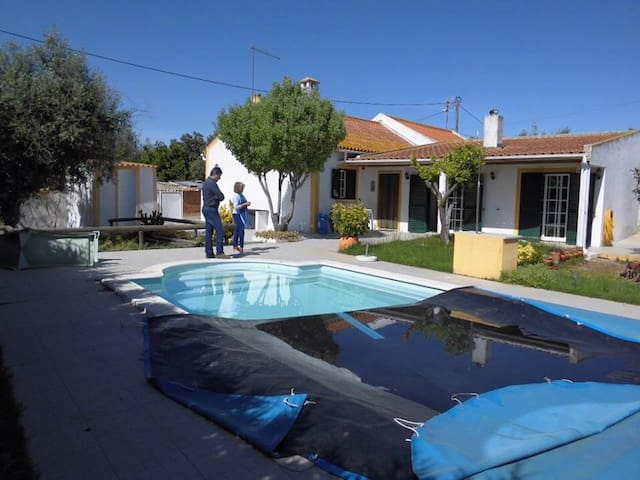 Maison avec piscine Alentejo - Vale da eira  - Huis
