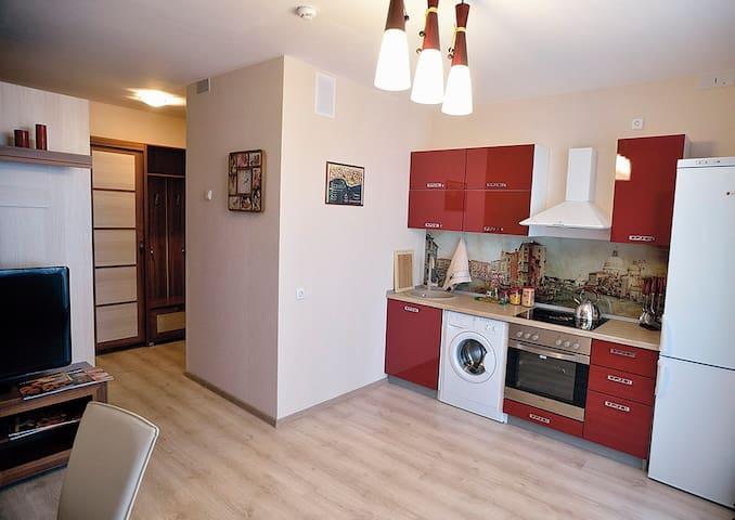 Уютная,просторная квартира студия - Chelyabinsk - Leilighet