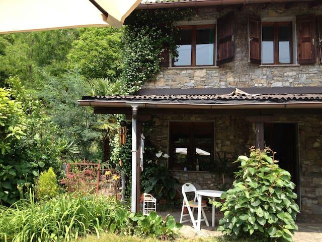 Cosy house on the hill - San Bernardino Verbano - Casa