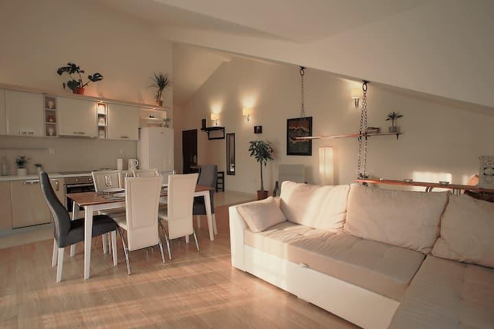 DeVasco's Designer Apartment 82 sqm, 100m from Sea