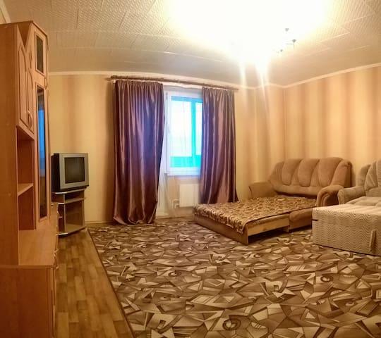 Большая светлая двухкомнатная квартира в новом доме - Voronez - Apartment