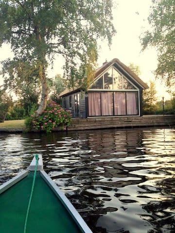 Vakantie vieren in Giethoorn inclusief boot