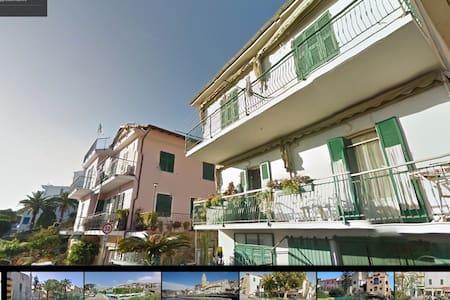 Appartamento vista mare - Santo Stefano Al Mare - Leilighet