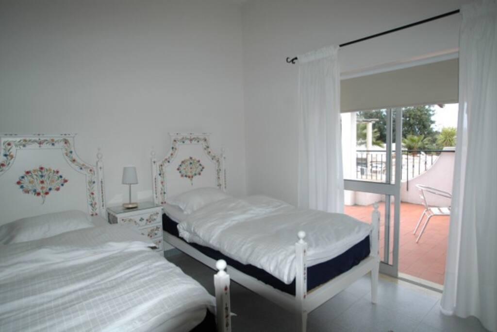 Bedroom apt#3.