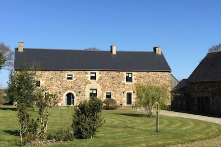 Luxury 16th Century Farmhouse near Dinan, Brittany - Plenee Jugon - House