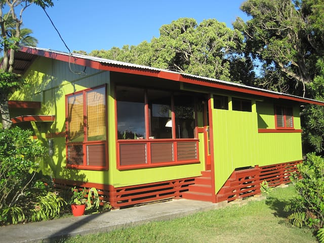 Relaxing 1 or 2 Bedroom Hawi/Kapa'au Cottage - Kapaau - Dom