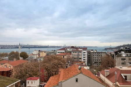 Amazing Flat with SeaView in Galata - Galata, Beyoğlu