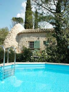 Mazet avec piscine Uzès à Pieds - Uzès - House