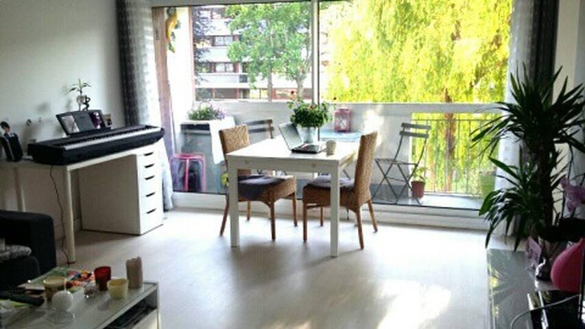 Appartement lumineux idéal famille/10 min Paris - Houilles - Apartamento