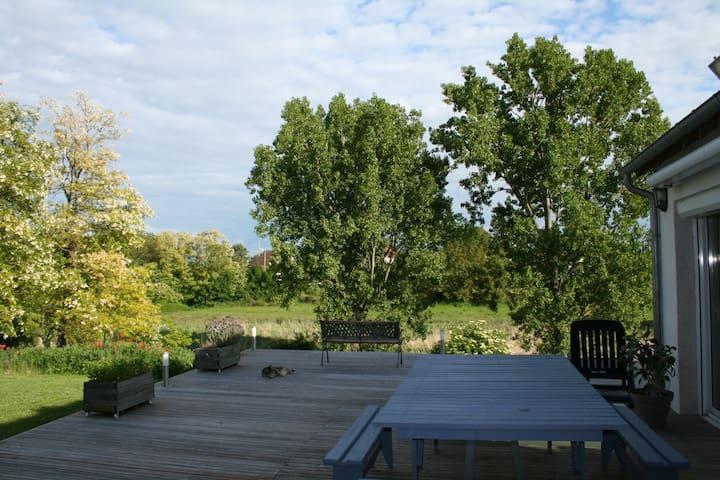 longère à 15mn de Blois et la Loire - Maves - Huis