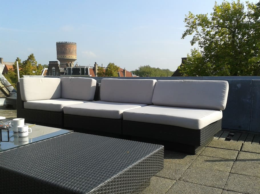 Terrace furniture for cozy activity in the sun: wine drinking, food tasting, sunbathing BBQ and much more