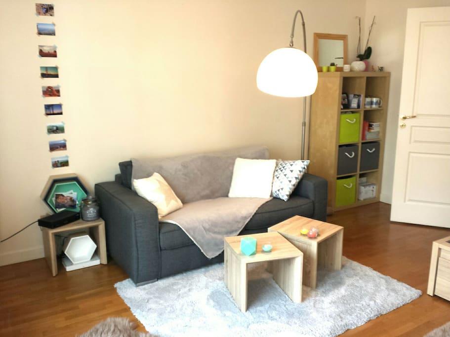 partie salon (living part)