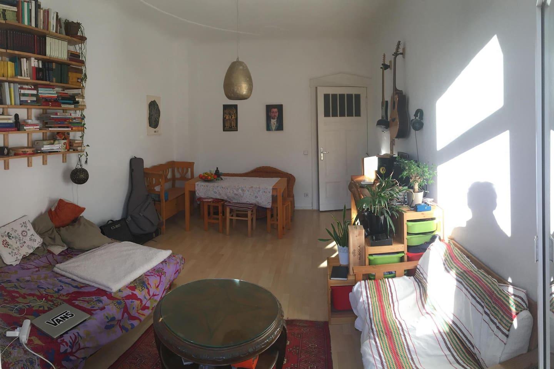 Bedroom/Livingroom from Balcony