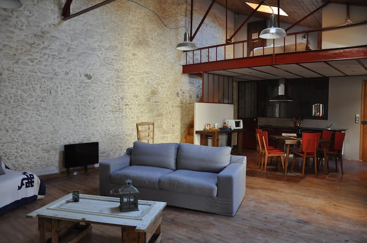Centre city Apartment loft - Béziers - Apartment