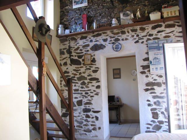 Maisonnette rustique coeur de bourg - Le Pin-en-Mauges