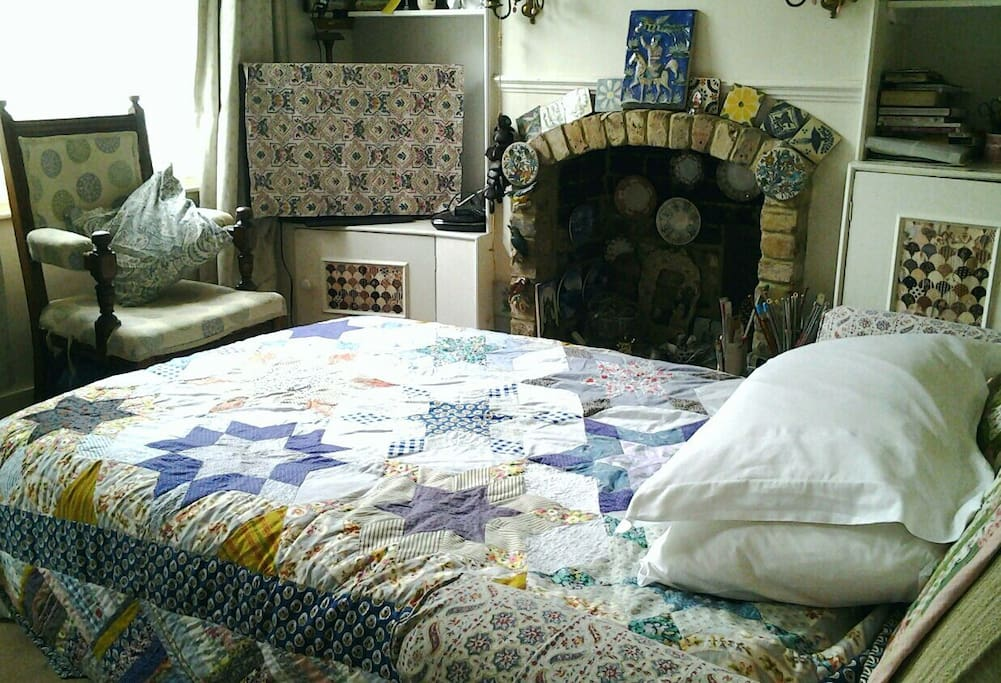 You'll get your own patchwork quilt