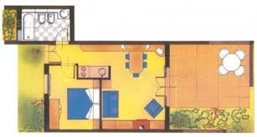 Appartamento vista mare incantevole - Santa Caterina - Apartment