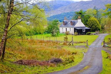 The Old Croft House - Strathcarron - Casa