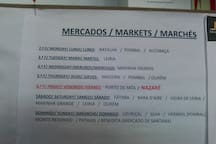 Days of markets around Nazaré