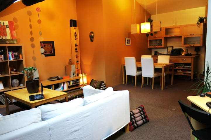 Cosy apartment in the city center - Liège - Apartament