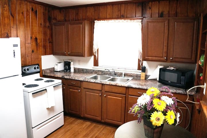 Nice 2 BR Cottage Near Downtown WIFI and  Kitchen