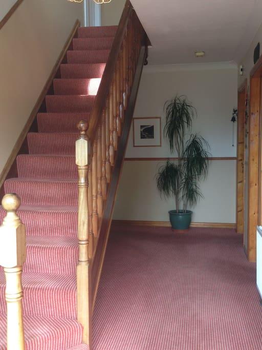 Hall-way entrance.
