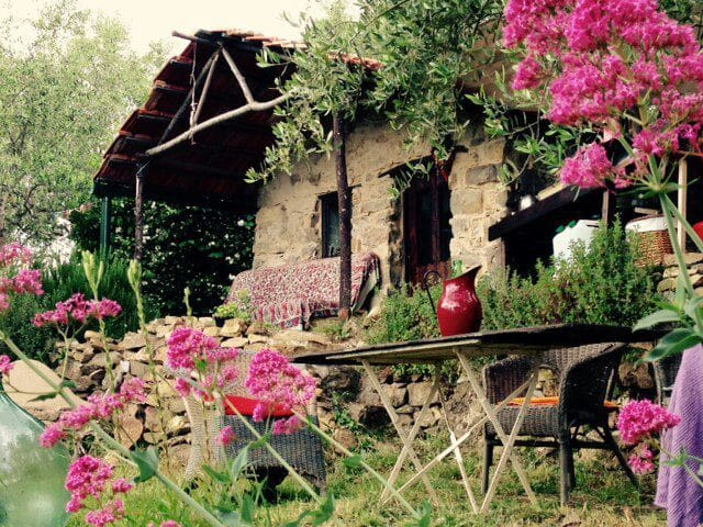 Eco rustico on tranquil olive grove - Ceriana - Chatka