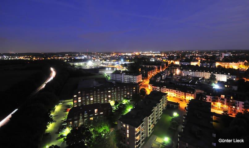 Aachens höchster Ferienbalkon
