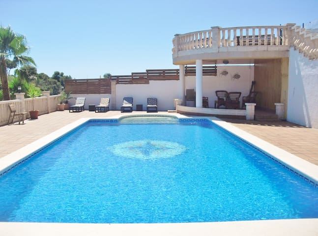 """CD306 - Private pool, nature and festivities """"a la carte"""""""