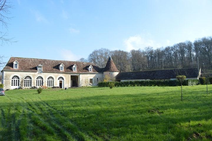 Orangerie du château de Boussay - 14 pers Max