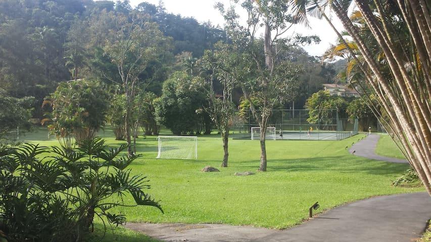 Área verde do condomínio