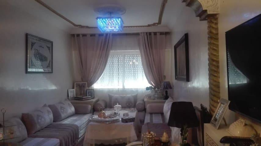 Tres bel appartement rabat  harhoura