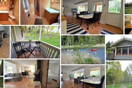 Cottage with sauna and Kayak - Vetlanda N