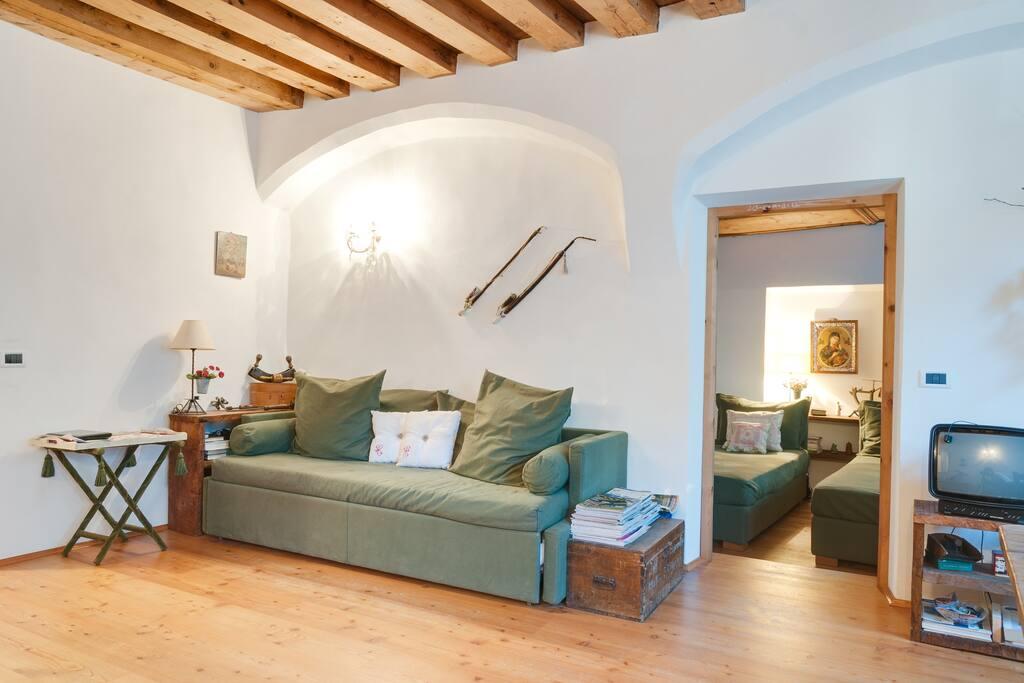 Romantic apartment up to dolomites appartamenti in for Affitto bressanone