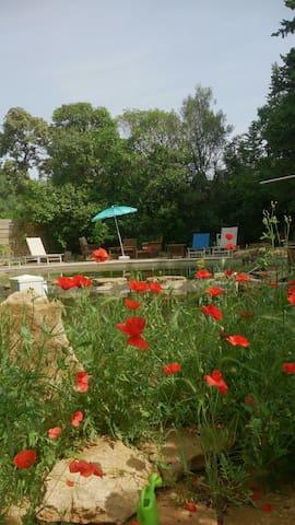 Détente et convivialité au soleil - Vers-Pont-du-Gard - Apartment