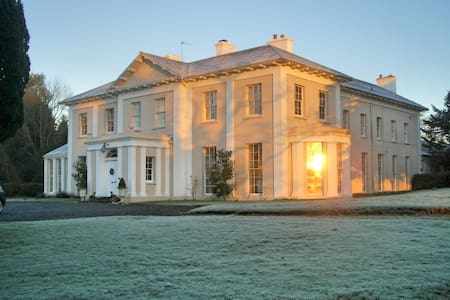 Monachty Mansion Henry's Twin Room - Aberaeron