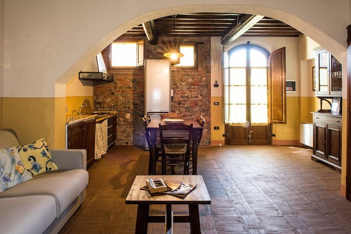 Casa d'Era - Appartamento Aida - Lajatico - Appartement