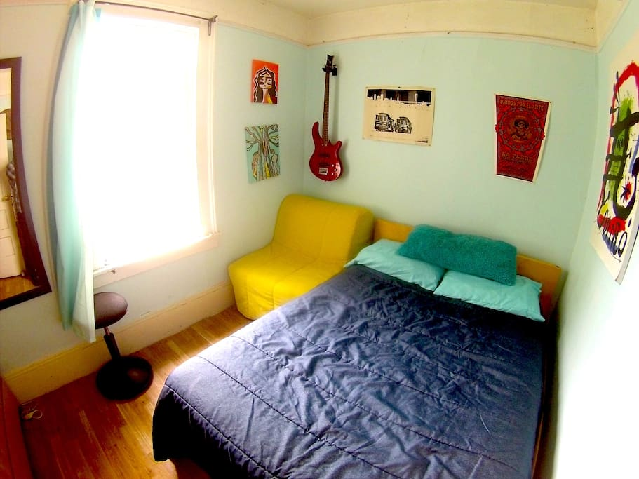 Cozy Room In The Mission Green Hut