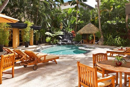 Aqua Bamboo Room with Free Wifi - Honolulu
