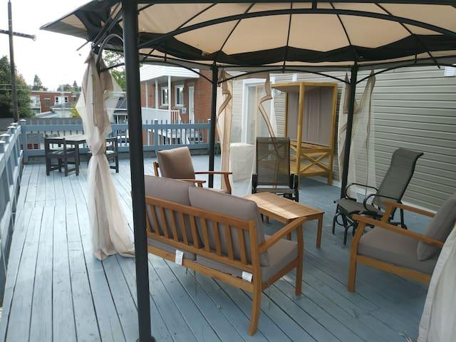 Le balcon Appartement 1