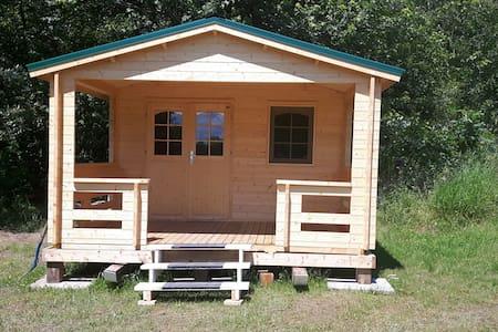 Rustic Glamping Cabin
