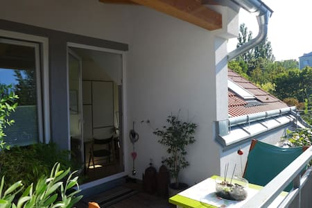 rooftop-apartment near metro - Vienne - Appartement