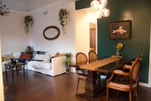 Spacious, Boho-Chic Condo, 10-15 min to Dntwn + UA