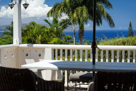 Cottage by Wailea with Fabulous 180' Ocean view
