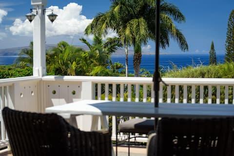 Victorian Villa by Wailea with 180' ocean views