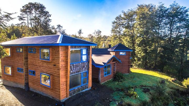 Bella Habitación matrimonial en Hostal Casa Bosque