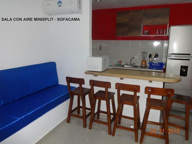 Apto con Jacuzzi Frente al mar - Coveñas - Apartment
