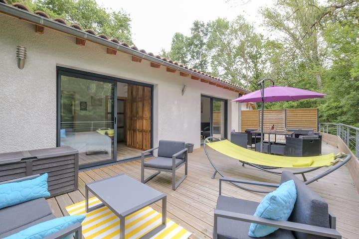 Pause Nature : maison entière à 15 kms de Toulouse
