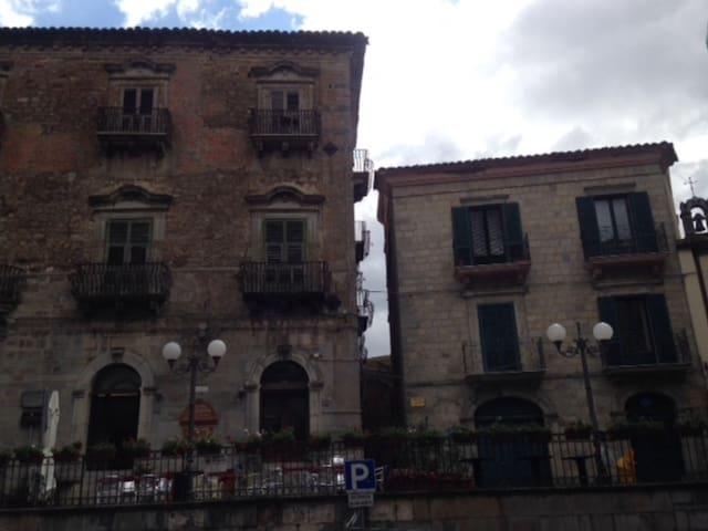 Centro storico con vista