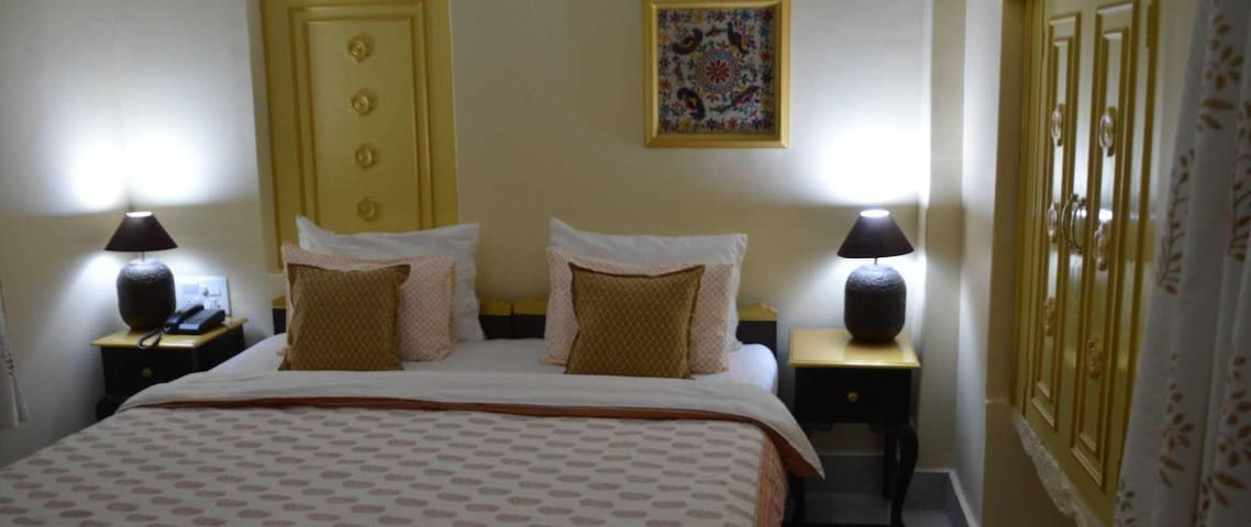 # Palace View  Deluxe king room